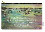Pelicans Fly Psalm 139 Carry-all Pouch