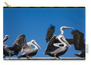 Pelicans Take Flight Carry-all Pouch