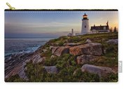 Pemaquid Light At Dusk Carry-all Pouch