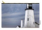 Pemaquid Point Lighthouse In Winter Carry-all Pouch