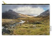 Pen Yr Ole Wen And Tryfan Mountain Carry-all Pouch