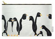 Penguins  -2 Carry-all Pouch
