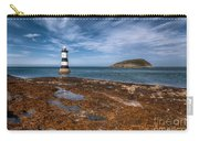 Penmon Lighthouse Carry-all Pouch by Adrian Evans