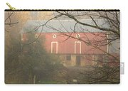 Pennsylvania German Barn In The Mist Carry-all Pouch