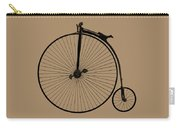 Penny Farthing Sepia Carry-all Pouch