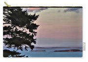 Penobscot Bay At Dusk Carry-all Pouch