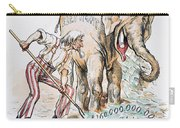 Pension Cartoon, 1893 Carry-all Pouch