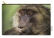 Pensive Baboon Carry-all Pouch
