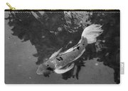 Pensive Koi Bw Carry-all Pouch