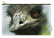 Pensive Ostrich Carry-all Pouch