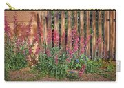 Penstemon - Adobe - Fence Carry-all Pouch