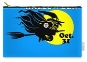 Pentacle Halloween Witch Carry-all Pouch