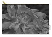 Peonie In Bw Carry-all Pouch