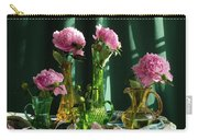 Peonies #4 Carry-all Pouch