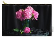 Peonies - Beauty The Brave Carry-all Pouch