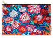 Peonies Bouquet Carry-all Pouch