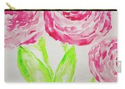 Peonies In Bloom Carry-all Pouch