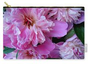 Peonies Under The Weather Carry-all Pouch