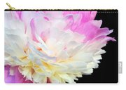 peony 16 Double Pink Peony Macro Carry-all Pouch