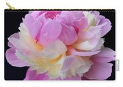 peony 4 Double Light Pink Peony II Carry-all Pouch