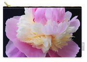 peony 5 Double Light Pink Peony III Carry-all Pouch
