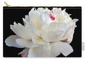 peony 6 Double White Peony I Carry-all Pouch