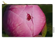 Peony Blossom Opening Carry-all Pouch