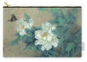 Peony Butterfly Carry-all Pouch