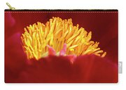 Peony Detail Carry-all Pouch