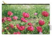 Peony Garden Carry-all Pouch
