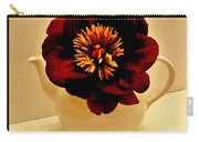Peony In A Tea Kettle Carry-all Pouch