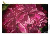 Peony In The Rain Carry-all Pouch
