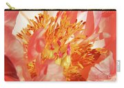Peony Macro Carry-all Pouch