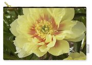 Peony Paeonia Sp Bartzella Variety Carry-all Pouch