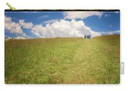 People On The Hill Painterly Carry-all Pouch