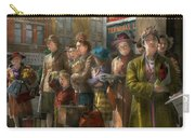 People - People Waiting For The Bus - 1943 Carry-all Pouch