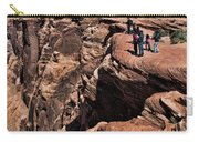 People View Horseshoe Bend Rock Edge  Carry-all Pouch
