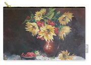 Still-life With Sunflowers Carry-all Pouch