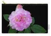 Peppermint Rose1 Cutout Carry-all Pouch