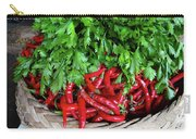 Peppers In A Basket Carry-all Pouch