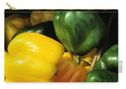 Peppers Yellow And Green Carry-all Pouch