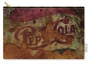 Pepsi Cola Vintage Sign 5a Carry-all Pouch