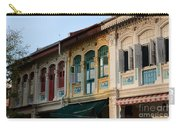 Peranakan Architecture Design Houses And Windows Joo Chiat Singapore Carry-all Pouch