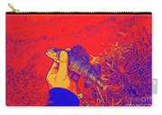 Perch Red Yellow Blue Carry-all Pouch