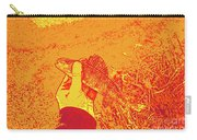 Perch Red Yellow Carry-all Pouch
