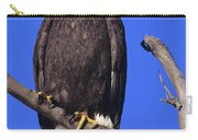 Perched Bald Eagle Carry-all Pouch