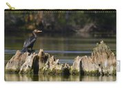 Perched Cormorant Carry-all Pouch