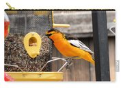 Perched Oriole Carry-all Pouch