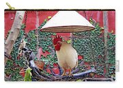 Perched Rooster Carry-all Pouch