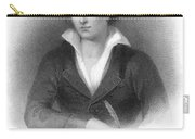Percy Shelley (1792-1822) Carry-all Pouch
